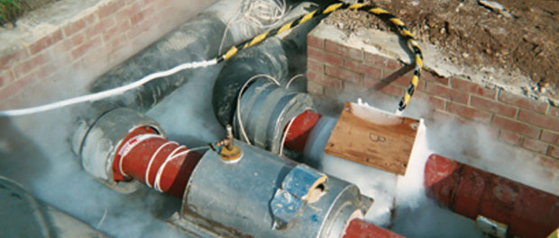 Pipe freezing solutions